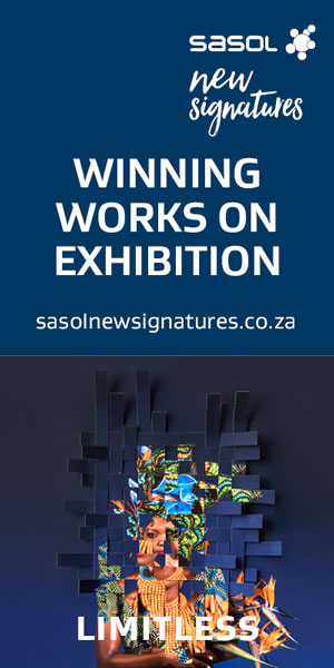 Sasol New Signatures 2019 art competition leaderboard 300×600