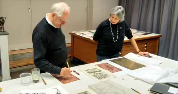 Kim Berman William Kentridge Artist Proof Studio printmaking art South Africa