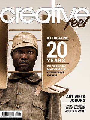 Creative Feel September 2019 arts culture dance magazine South Africa Vuyani Dance Theatre Joburg