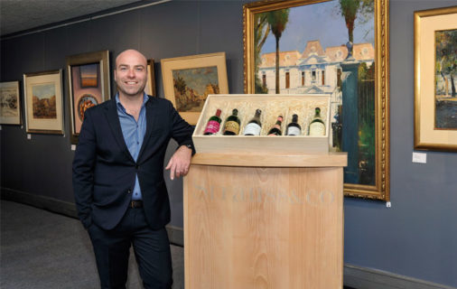 Strauss & Co fine wine auction art Higgo Jacobs