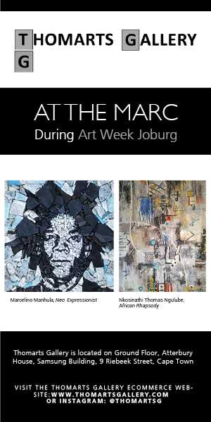 Thomarts Gallery Art Week Joburg 300×600