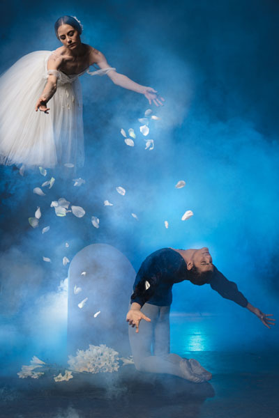 Joburg Ballet Giselle Shannon Glover and Revil Yon