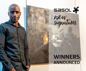 Sasol New Signatures winner exhibition 300×250