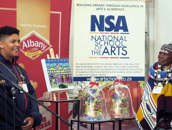 Jiyaad Greeff Esther Mahlangu Albany bread design art youth school