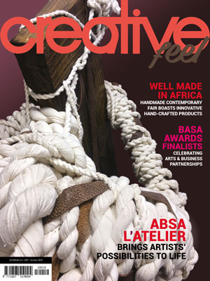Creative Feel October 2019 magazine South African arts culture lifestyle