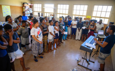 Cape Town Opera The Scars of our Heroes Imivumba YamaQhawe theatre children youth