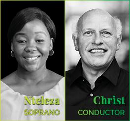 Johannesburg Philharmonic Orchestra JPO symphony concert Spring 2019 Wolfram Christ Linda Nteleza