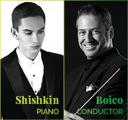 Daniel Boico Dmitry Shishkin Johannesburg Philharmonic Orchestra JPO symphony concert Spring 2019