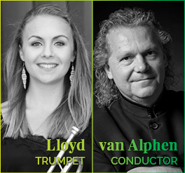 Conrad van Alphen Matilda Lloyd Johannesburg Philharmonic Orchestra JPO symphony concert Spring 2019