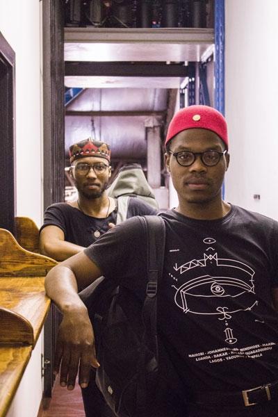 Theatre Duo Dave Mann Billy Langa Mahlatsi Mokgonyana Market Theatre