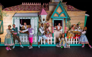 Joburg Theatre Jack and the beanstalk pantomime Festive Season kids children show stage production