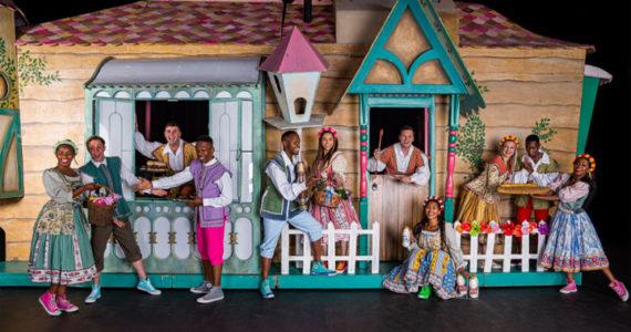 Joburg Theatre Jack and the beanstalk pantomime Festive Season kids children show stage production