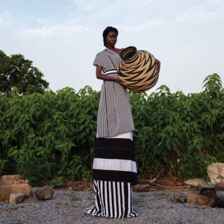 Handmade Discoveries from Africa craft sale exhibition Plettenberg Bay basket-ware