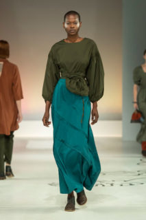 Amanda Laid Cherry South Africa SA Fashion Week sustainable