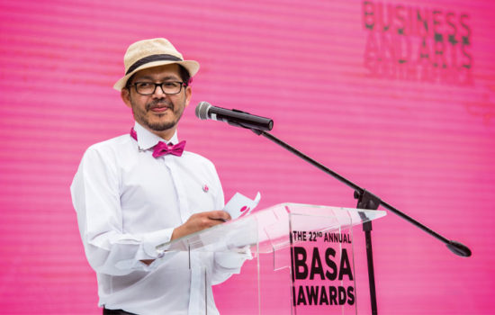 Ashraf Johaardien BASA Business Arts South Africa Awards ceremony