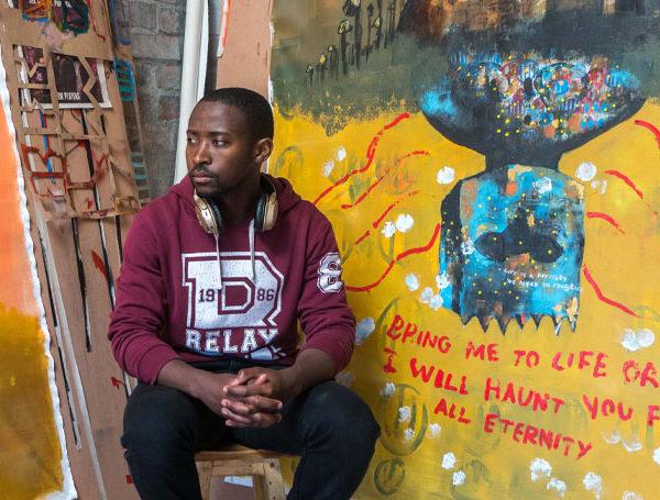Buhle Nkalashe Re-Awakening exhibition Youngblood Gallery