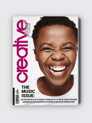 Creative Feel music issue publication magazine Zolani Mahola