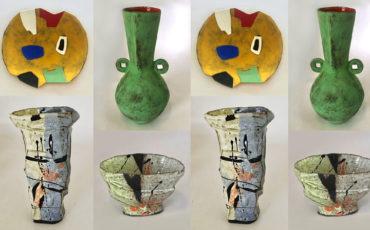 Clementina van der Walt Kim Sachs Gallery ceramics exhibition