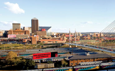 Gauteng Film Commission Joburg Johannesburg Nelson Mandela bridge