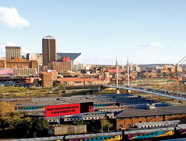 Gauteng Film Commission Joburg Johannesburg Nelson Mandela bridge