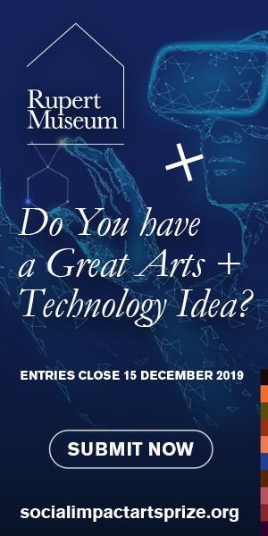 Social Impact Arts Prize 2019 300 x 600