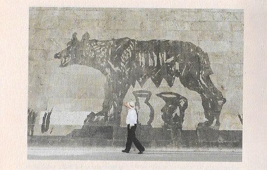 William Kentridge print Artist Proof Studio Cape Town Art Fair 2020 She Wolf