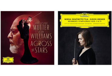 Across the Stars Ann-Sophie Mutter John Williams Deutsche Grammophon Weinberg Symphonies Nos. 2 & 21