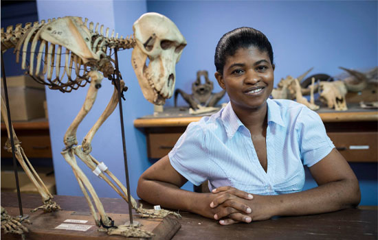 museum curator Dr Mirriam Tawane