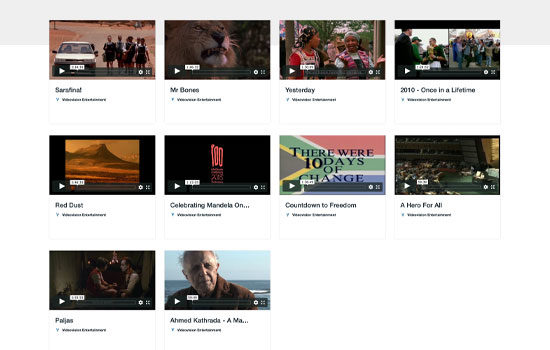 Videovision entertainment stream free South African films online