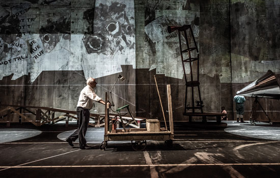 William Kentridge The Head and the Load production