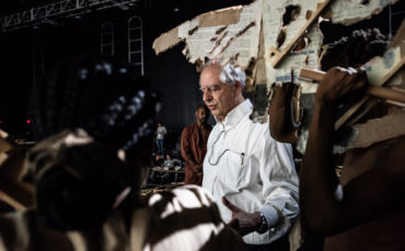 William Kentridge the Head and the Load production South Africa behind the scenes