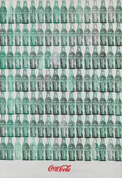 Andy Warhol (1928 – 1987) Green Coca-Cola Bottles 1962 Whitney Museum of American Art, New York; purchase with funds from the Friends of the Whitney Museum of American Art 68.25. © 2020 The Andy Warhol Foundation for the Visual Arts, Inc. / Licensed by DACS, London.