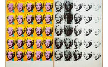 Andy Warhol (1928 – 1987) Marilyn Diptych 1962 Tate © 2020 The Andy Warhol Foundation for the Visual Arts, Inc. / Licensed by DACS, London.
