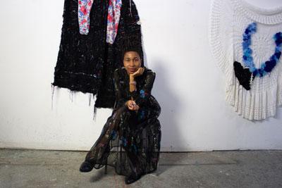 Georgina Maxim at The Bag Factory Artist's Studios