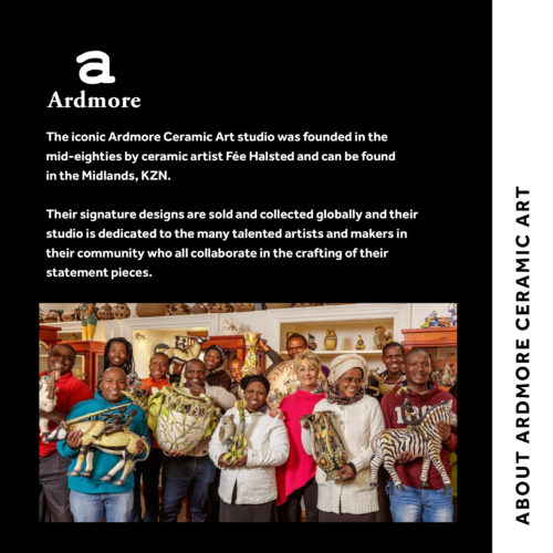 The Lockdown Collection Ardmore Ceramic Art Thabiso Mohlakoana