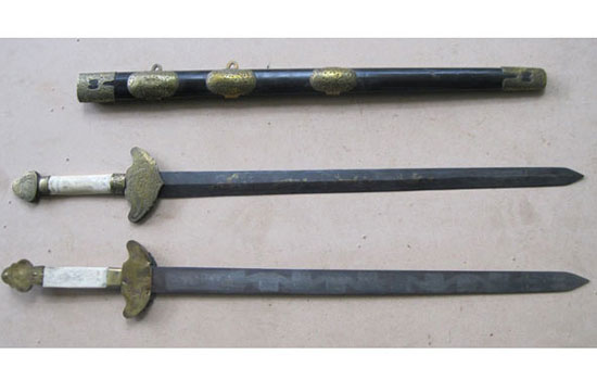 Chinese Paired Swords