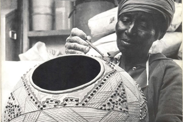 DITSONG Museum of Cultural History South Africa Dinah Molefe ceramics