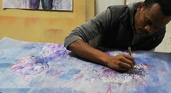 Lehlogonolo Mashaba at work