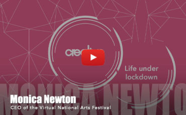 Monica Virtual Newton National Arts Festival NAF Life Under Lockdown video interview