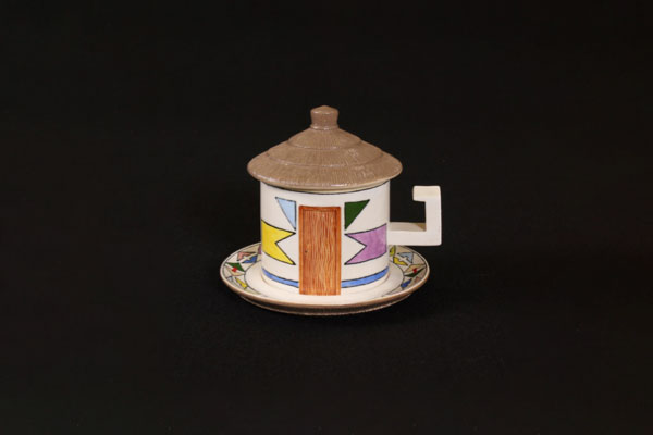 DITSONG Museum of Cultural History South Africa Peter Mthombeni tea set