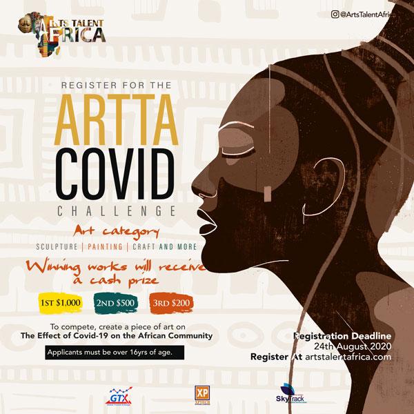 ARTTA Covid-19 art challenge competition