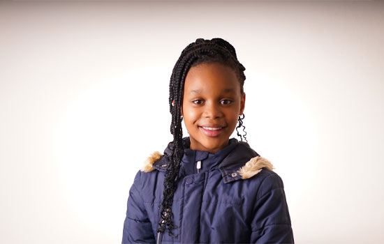 Kamvalethu Jonas rising star local talent young South African actress grade 4