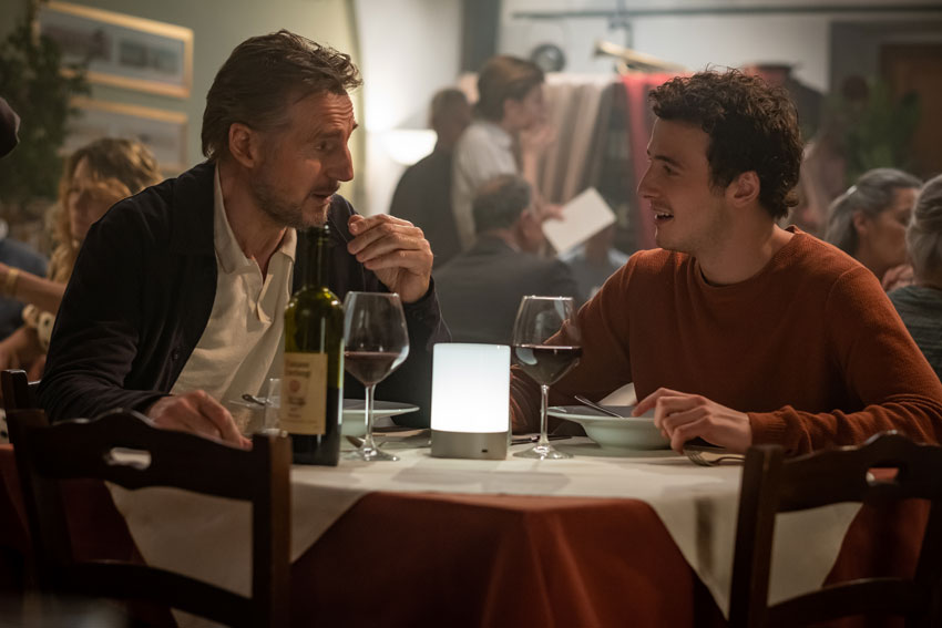 Made in Italy Liam Neeson FilmFinity Ster Kinekor Cinema Nouveau cinemas open