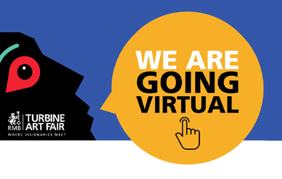 RMB TAF 2020 virtual Turbine Art Fair live event stream online