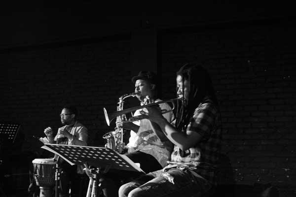 UJ University of Johannesburg Arts & Culture Hlakanyana rehersals