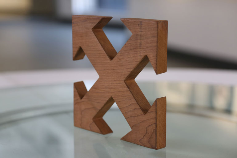 UJ Moving Cube online gallery Willem Boshoff