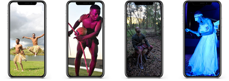 My Body My Space Public Arts Whatsapp Festival on your phone South Africa 2021