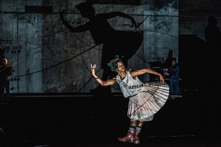 The Head & The Load theatre art production by William Kentridge South Africa 2021