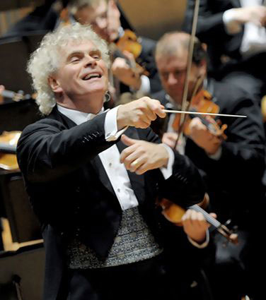 Sir Simon Rattle conductor leaves London Symphony Orchestra LSO