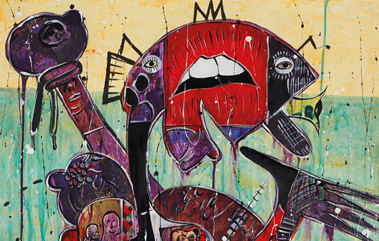 Greg Lazarus founded Image Swing to showcase contemporary African art in LA